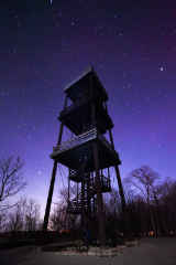Eagle Tower with Stars