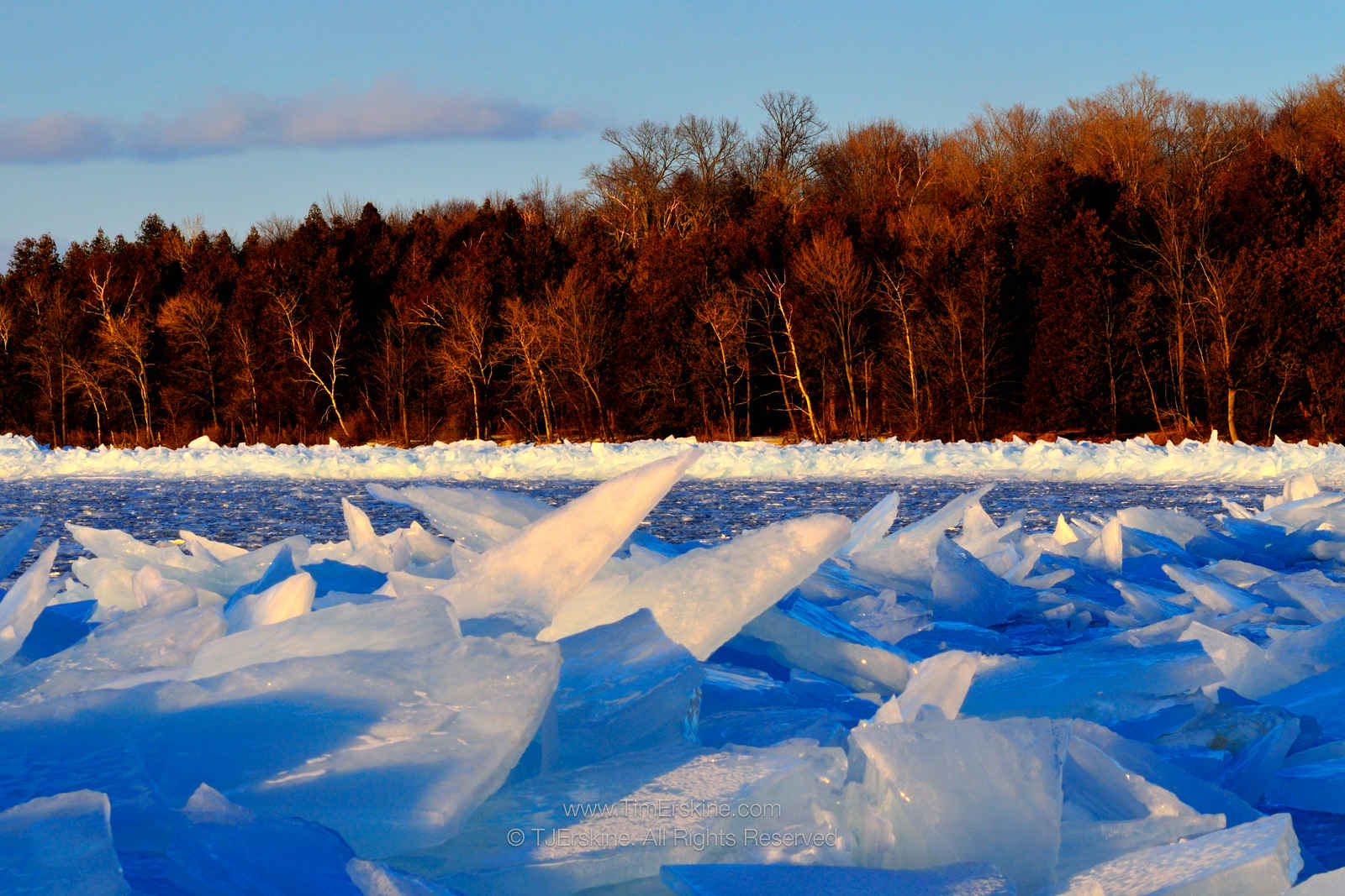 Peninsula Park Ice Shoreline